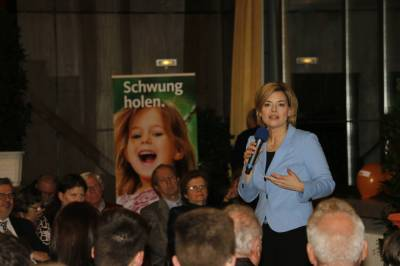 3.03.2016: Julia Klöckner in Schifferstadt -